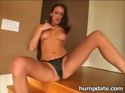 Mandy Bright takes a big black cock in her ass
