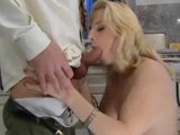 Milf fucked in between business trips