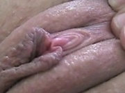 Close up female orgasm