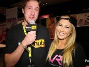 PornhubTV Carter Cruise Interview at eXXXotica 2014 Atlantic City