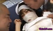 Hot nurse mika osawa fucking dildo part1