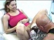 Girl gets clit pierced...ouch