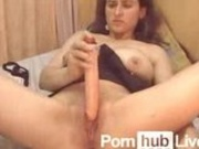 SuperPutita From Pornhublive Enjoys Double Penetration