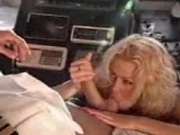 Jenna Jameson sucking and fucking the captain