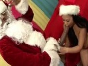 Maya Luana Gets A Lump Of Cock For X-Mas