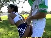 Reena gets more than soccer lessons
