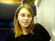 19 Years Old Masturbates In Train