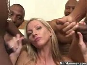 Emma Starr - Black Attack GangBang (Anal)