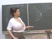 Melina Velba HUGE Natrual TITS Biology