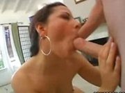 Brunette milf is excited to suck dick