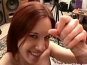 Amateur Gives A Smooth Handjob POV