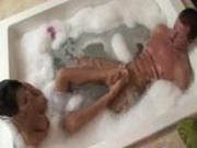 Fun In The Jacuzzi Followed By Cum In Mouth