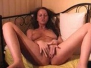 Big tit amateur masturbating