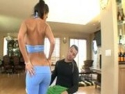 Booty And Busty Charley Chase Riding Her Trainer Like There's No Tomorrow
