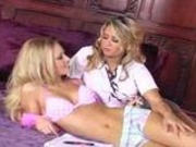 Codi Milo and Brea Bennett having some sweet fun