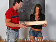 Savannah was so horny she fucked her teacher!