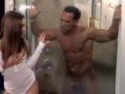Shower interrupted