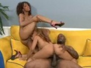 Horny Ebony Bitches Ride Long Cock