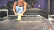 Brandi Love Gets Oil Bath