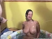Jade has awsome goldenshower