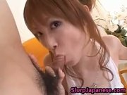 Rika Sakurai Japanese Model Sucks Cock part1