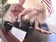 Busty homecoming Queen fucks her professor for high grades