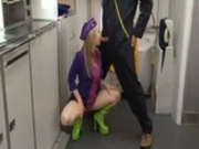 Getting Dirty In The Back Of A Plane
