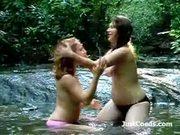 Geek porn girlfriends outdoors kissing amateurs in bikini