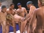 Milf Gangbanged in the Ring