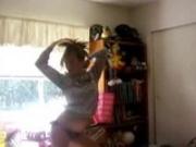 Kat dancing