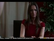Natural tit brunette babe Tori Black overcomes grief with anal fu