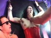 Latex Slut Fucked In Butt