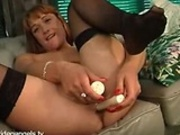 UK Babe Dildos Both Holes
