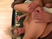 Hardcore blonde addicted to anal