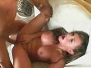 Busty Bitch Takes A Rough Ride