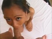 Filipina Teen Takes A Nice Creampie.
