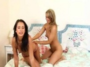 Lesbians with dripping wet panties