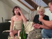 Home Party With Her Mom Goes Very Bad