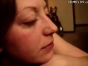 Cumshot in her mouth and swallow