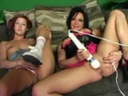 Tory Lane teaches Trisha Rey to be a lesbo