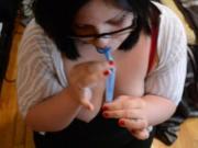 my girlfriend swallowing my sperm in the condom