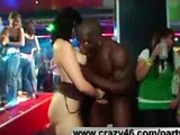Wild Girls Fuck Strippers at Party (p3)