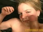 Hot Blonde girl Hypnotized