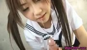 Asian babe is getting initiated into part1