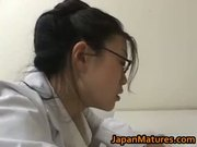 Amazing nurse is a hot mature gal part3