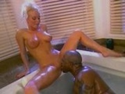 Silvia Saint & Mr. Marcus Bathroom Orgy