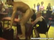 Outrageous footage from inside male strip club