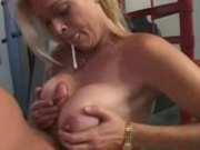 Brooke Hunter Get's On Her Knees And Sucks!