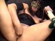 Nasty Slut Fisting Her Hole