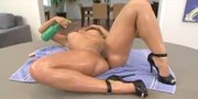 Phat Booty Sophia Castello Gets Oiled Up Before She Gets Smashed